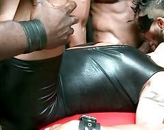 Servant Draven thoroughly pounds master`s new sex toy Luc Bonay.